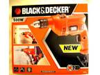 Black & Decker Kr504 Corded Hammer Drill Bnip