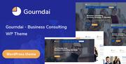Gourndai - Business Consulting WordPress Theme