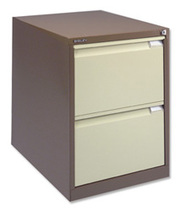 Bisley BS2E Filing Cabinet 2-Drawer £126.43 in StationeryHut