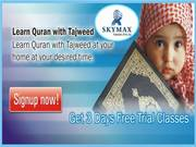 our academy provide Online Quran Education at your door step Skymax ac